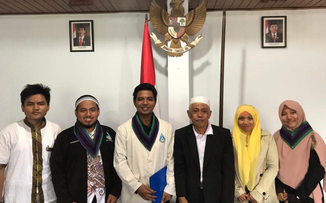 Audiensi PII Bali bersama Ketua MUI Bali
