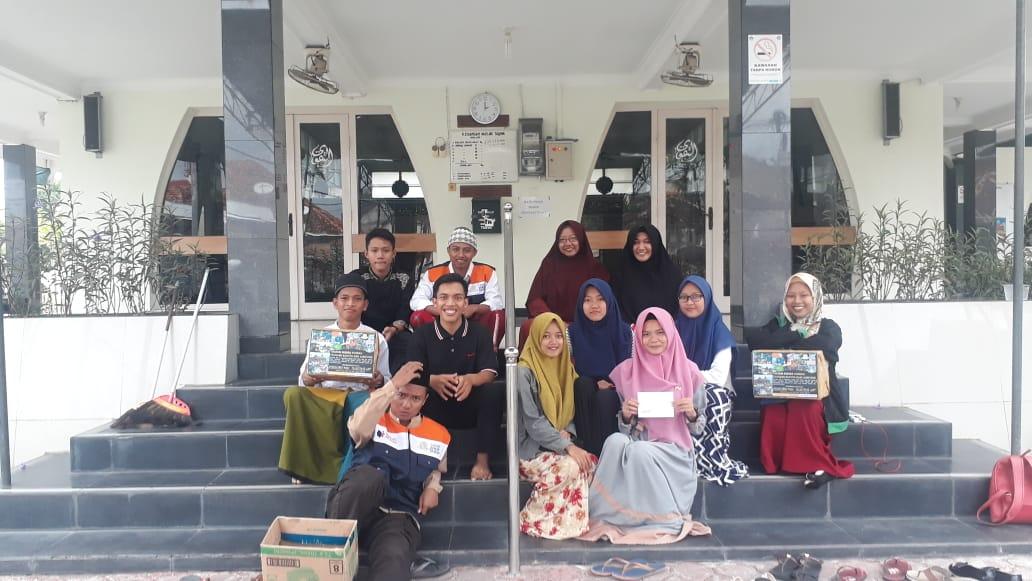 Peduli Banten, PII Buleleng menggalang dana bersama Madrasah Relawan Bali