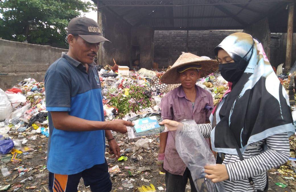 PII Bali bersama Laznas Dewan Dakwah Bali Membagikan Masker Ke Masyarakat