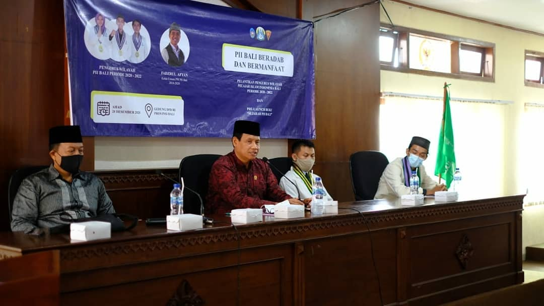 Pelantikan PW PII Bali 2020-2022 Dilaksanakan DiTengah Pandemi